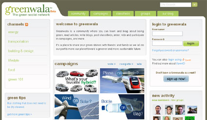 Greenwala Social Network