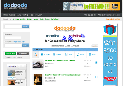 Dadooda.com - New breed of Content-Networking