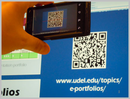 QR Codes in the College Classroom