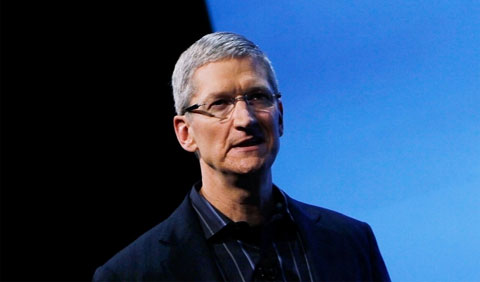 Apple's Chief Executive, Tim Cook