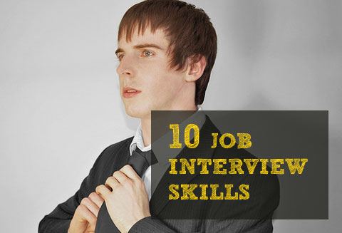 10 Job Interview Skills