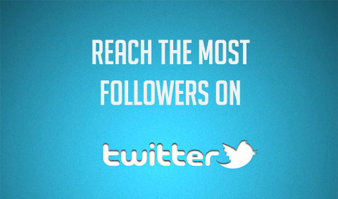 Reach The Most Followers on Twitter