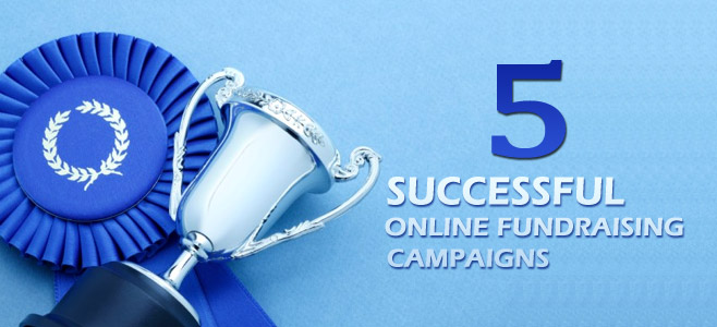 Top 5 Successful Online Fundraising Campaigns through Web Design