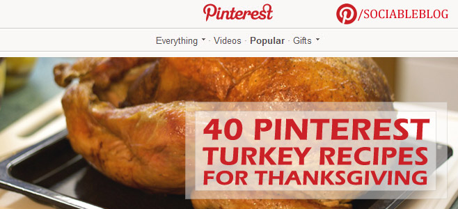 Gobble, Gobble: 40 Mouthwatering Pinterest Turkey Recipes for Thanksgiving