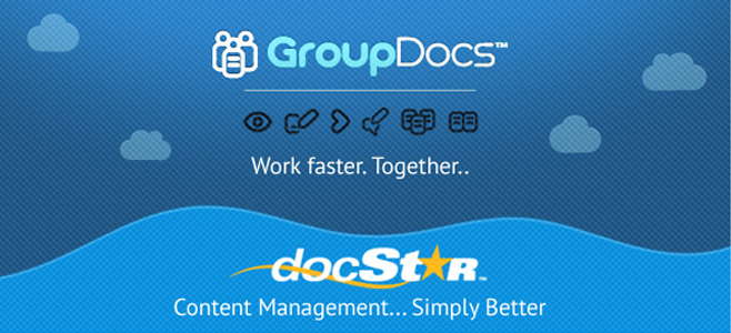 GroupDocs Vs Docstar : SaaS-based Document Management Solutions