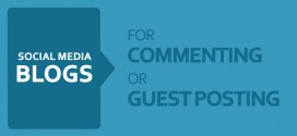 79 Most Popular Social Media Blogs to Comment on or Guest Post For