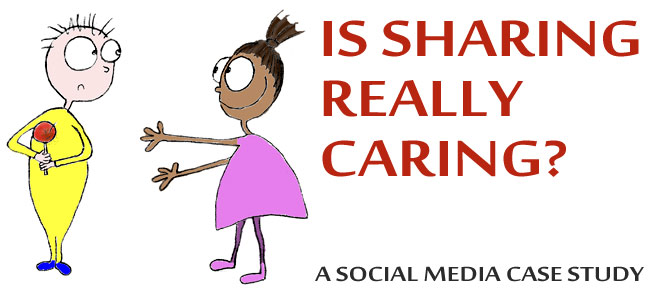 Social Media Case Study: Is Sharing Really Caring?