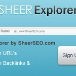 SheerExplorer.com Backlink Checker