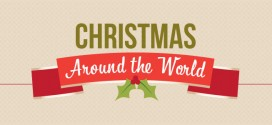 Fun & Weird Christmas Facts Around the World (Infographics)