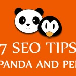 7 SEO Tips Post Panda and Penguin