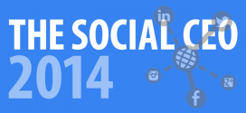 The Social CEO 2014: 68% of CEOs Have No Social Presence (Infographic)