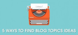 Five Ways to Find Blog Topics Ideas Using Social Media