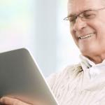 Older people use social media
