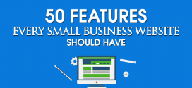 Top 50 Features Every Small Business Website Should Have (Infographic)