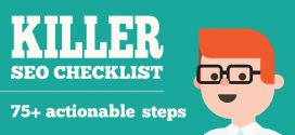 Killer SEO Checklist : The Ultimate SEO Guide for all Businesses (Infographic)