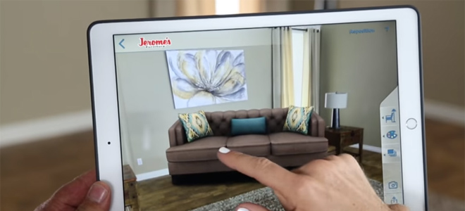 Jeromeu0027s Furniture Launches An Augmented Reality Solution That Takes  Guesswork Out Of Shopping | SociableBlog